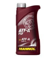 MANNOL ATF A-SUFFIX,PSF (АКПП+ГУР) 1л.